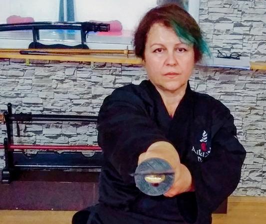 Aikido Elif Demir Sensei